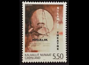 Grönland Greenland 2003 Michel Nr. 399 Europa Plakatkunst Briefmarke