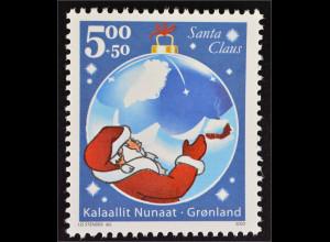 Grönland Greenland 2003 Michel Nr. 402 Stiftung Santa Claus Greenland Nikolaus