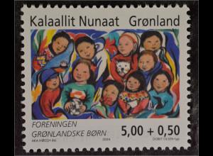 Grönland Greenland 2004 Michel Nr. 421 80 Jahre Verein Grönländischer Kinder FGB