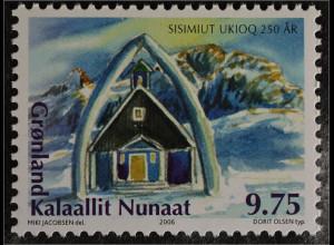 Grönland Greenland 2006 Michel Nr. 458 250 Jahre Stadt Sisimiut Holsteinsborg