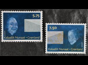 Grönland Greenland 2008 Michel Nr. 502-03 Europa Der Brief für Europa Sammler