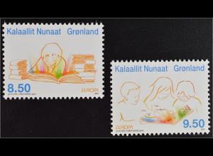 Grönland Greenland 2010 Michel Nr. 554-55 Europa Kinderbücher