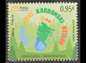 Montenegro 2016 Nr. 386 co2 Ausstoß reduzieren Umweltschutz Ökologie