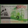 Montenegro 2016 Block 18 Europa Think Green Ökologie Umweltschutz Natur