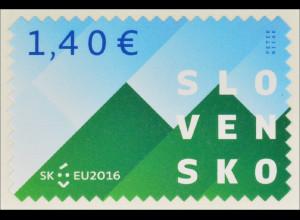 Slowakei Slovakia 2016 Michel Nr. 793 x Vorsitz im Rat der Europäischen Union