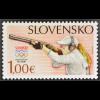 Slowakei Slovakia 2016 Michel Nr. 794+95 Olympische Sommerspiele in Rio Sport