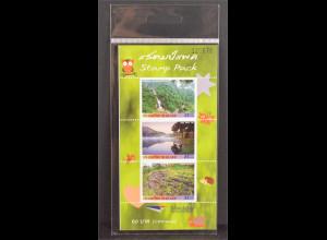 Thailand 2016 Nr. 2717-19 Stamp Pack Berge Natur Landschaften Flüsse Freimarke