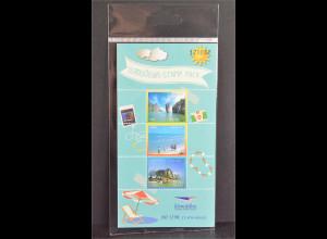 Thailand 2016 Nr. 2526 I + 2527 I + 2529 Stamp Pack Küstenlandschaften Meer