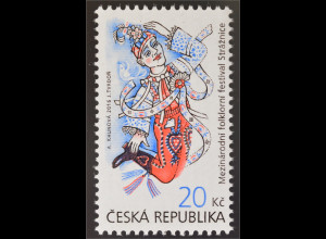 Tschechische Republik 2016 Nr. 888 Internationales Folklorefestival Strážnic