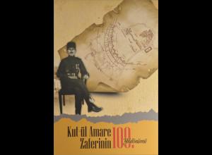 Türkei 2016 Block 147 + Nr. 4257-58 100. Jahrestag Kut-UI Amare Frieden Folder