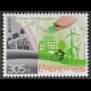 Ungarn Hungary 2016 Michel Nr. 5821 Europa Think Green Ökologie Umweltbewußtsein