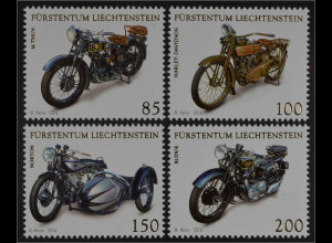 Liechtenstein 2016 Nr. 1824-37 Motorräder Harley Davidson Norton Rudge M. Thun