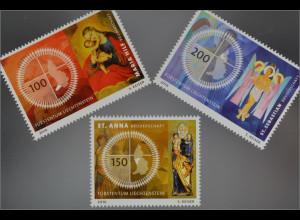Liechtenstein 2016 Nr. 1820-22 Bruderschaften Maria Hilf Sankt Anna