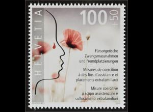 Schweiz 2016 Michel Nr. 2458 Opfer von fürsorgerischen Zwangsmassnahmen Blume