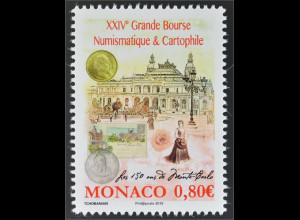 Monako Monaco 2016 Nr. 3312 Grand Bourse Numismatique und Cartophile Münzenmesse