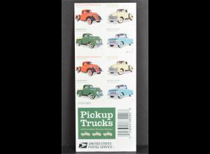 USA Amerika 2016 Michel Nr. 5295-98 Klassische Kleinlastwagen Chevrolet Pickup