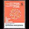 Makedonien Macedonia 2016 Nr. 172 Rotes Kreuz Zwangszuschlagsmarke