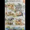 Tschechische Republik 2016 Block 61 Zoologische Gärten Tolle Motivausgabe Tiere