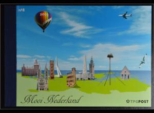 Niederlande 2005 Markenheft Schöne Niederlande Sehenswürdigkeiten