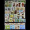 WWF World Wildlife Found of Nature 1989 postfrisch kompletter Jahrgang 13 Länder
