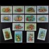 St. Kitts 1984 Michel Nr. 130-43 I Freimarken Meerestiere Fische Schnecken