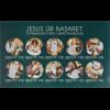 Dänemark Färöer 2016 Michel Nr. 868-77 Stationen des Jesus von Nazareth Religion