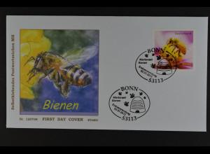 Bund BRD Ersttagsbrief FDC Michel Nr. 2799, Bienen, selbstklebend ! 11.3.2010
