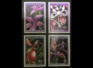 Australien 1986 Orchideen Elythranthera emarginata Dendrobium nindii