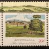 Briefmarken aus Australien Einwandererschiff im Hafen Siedlerhütte Ochsenkarren