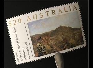 Australien Commonwealth Gartenanlagen Garten und Haus des Künstlers John Glover