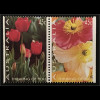 Briefmarken Australien Michel Nr. 1391-93 Grußmarken Rose Tulpen Mohnblumen