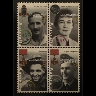 Australien Verdiente Persönlichkeiten aus der Zeit des Zweiten Weltkrieges