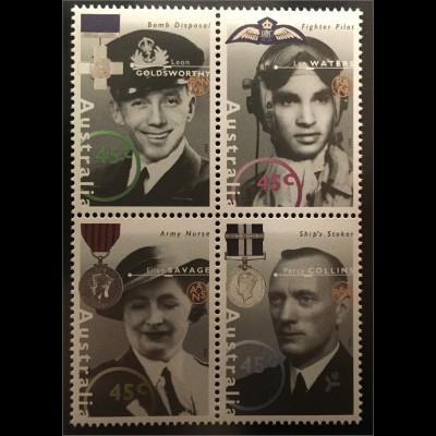 Australien Verdiente Persönlichkeiten aus der Zeit des Zweiten Weltkrieges WK
