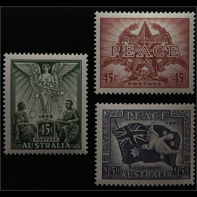 Australien 50. Jahrestag der Beendigung des Zweiten Weltkrieges