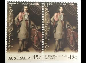 Australien Entdeckungsreise Willem de Vlamingh nach Australien Weihnachtsinsel