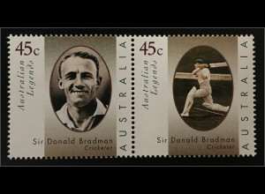 Australien Australian Legends Sir Donald Bradman 1908-2001 Kricketspieler