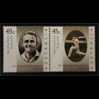 Australien Australian Legends Sir Donald Bradman 1908-2001 Kricketspieler