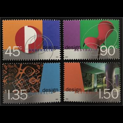 Australien Australisches Design Emblem der Australischen Post Pieter Huveneers