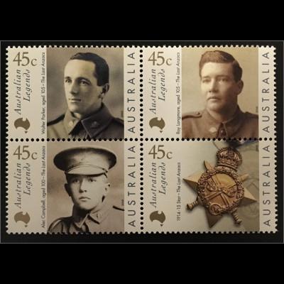 Australien Legends Mitglieder Australisch-Neuseeländischen Veteranenverbandes