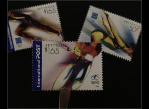 Australien 2004 Michel Nr. 2332-34 Olympische Paralympische Sommerspiele Athen