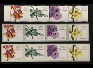 Australien 2007 Michel Nr. 2773-80 Wildblumen