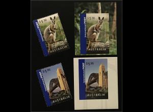 Australien 2007 Michel Nr. 2830-33 Grüße aus Australien Hafenbrücke von Sydney