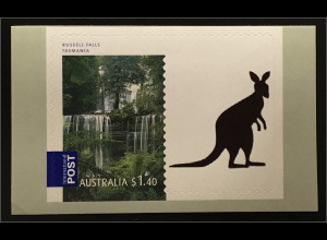 Australien 2008 Michel Nr. 3081 BD Wasserfall Russell Falls Tasmanien