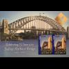 Australien 2007 Briefmarkenblock mit goldenem Aufdruck Bangkok 2007