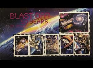 Australien 2007 Michel Nr. Block 72 50 Jahre Raumfahrt