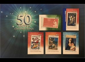 Australien 2007 Michel Nr. Block 73 50 Jahre australische Weihnachtsmarken