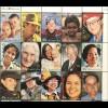Australien 2000 Michel Nr. 1869-93 Gesichter Australiens