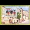Andorra französisch 2016 Block 13 Volkstänze und Landschaften Tanz Sardana