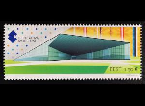 Estland EESTI 2016 Nr. 872 Eröffnung neues Nationalmuseums Tartu Rahva Muuuseum
