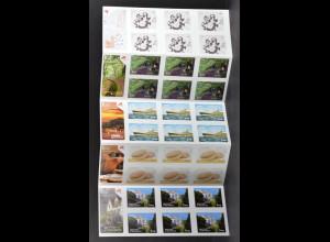 Portugal Madeira 2015 Michel Nr. 345-49 Faltblatt zu je 6 Marken